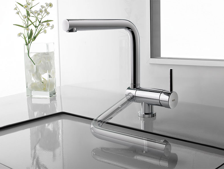 Folding Kitchen Taps