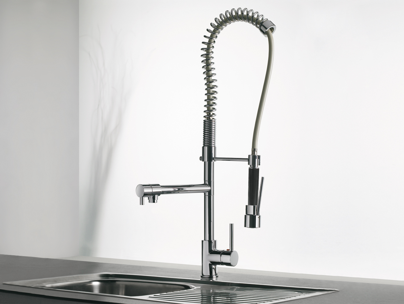 Industrial Kitchen Taps